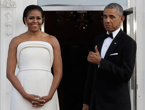 Michelle Obama White House State Dinner - Embed