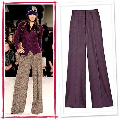 Oscar de la Renta, Calvin Klein Collection, High-Waist Pants