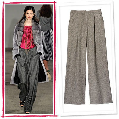 Jason Wu, Sisley, Pleated Pants