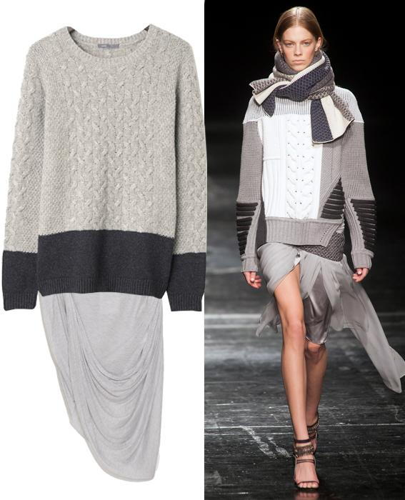 Skirt sweater combos: Prabal Gurung