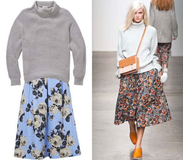 Skirt Sweater Combos
