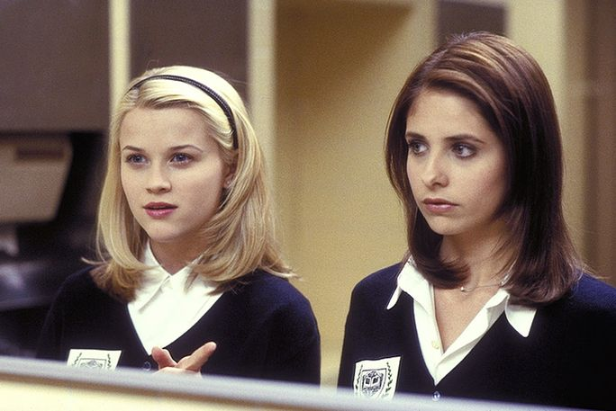 Crudele INTENTIONS, Reese Witherspoon, Sarah Michelle Gellar, 1999, ©Columbia Pictures/courtesy Everett Collection