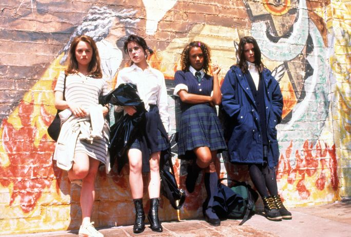IL CRAFT, Robin Tunney, Neve Campbell, Rachel True, Fairuza Balk, 1996, mural