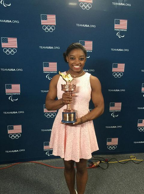 ona is the Team U.S.A. Female OLYMPIC Athlete of the Year.