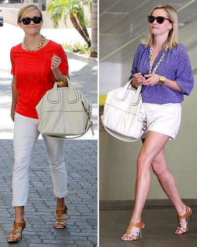 Reese Witherspoon with Givenchy bag