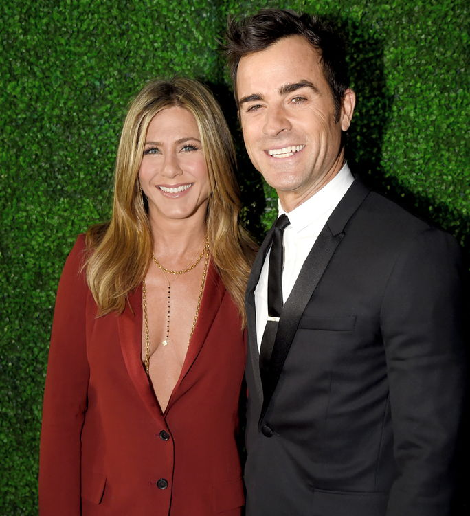 Jennifer Aniston and Justin Theroux ANUARY 15 2015