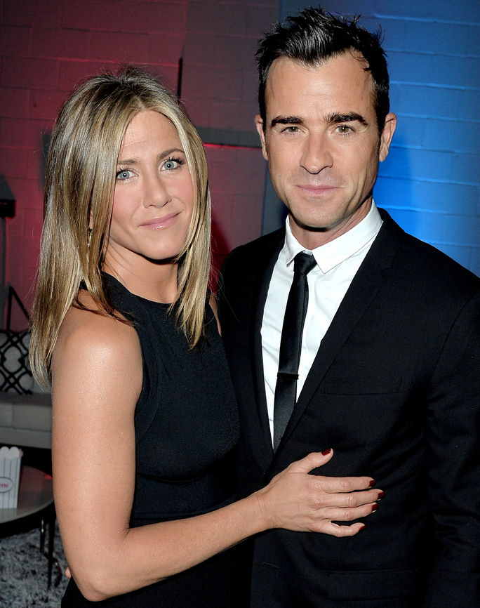 Jennifer Aniston and Justin Theroux SEPTEMBER 8 2014
