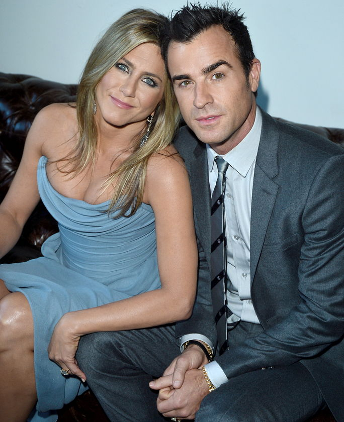 Jennifer Aniston and Justin Theroux SEPTEMBER 14 2013