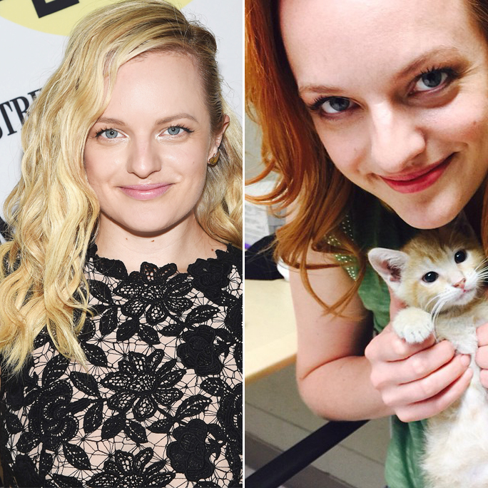 Elisabeth Moss - Hair Transformation