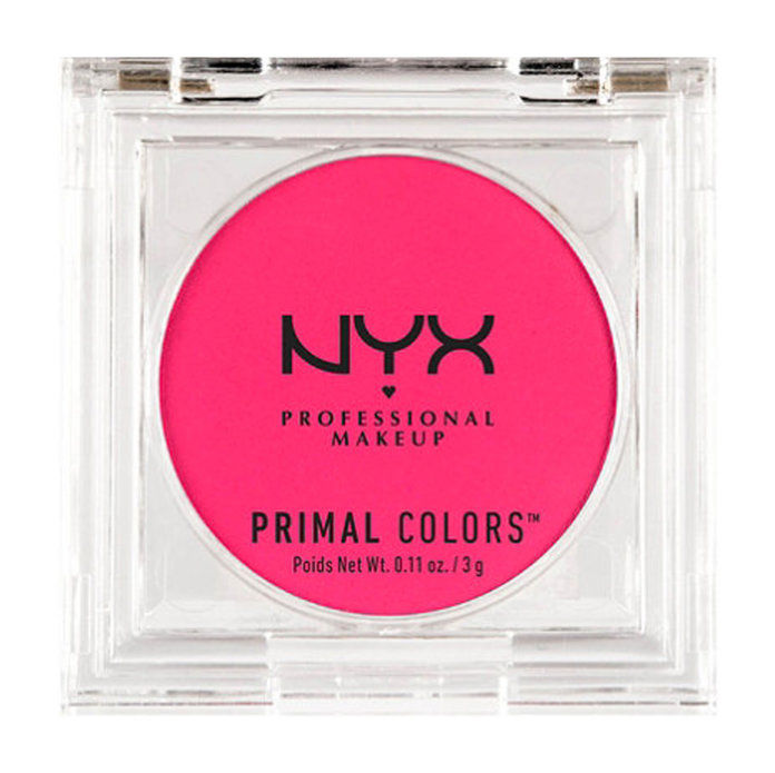 veľmi Deep complexions: NYX Primal Colors Pressed Pigments Face Powder in Hot Pink