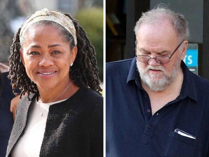 Doria Ragland and Thomas Markle
