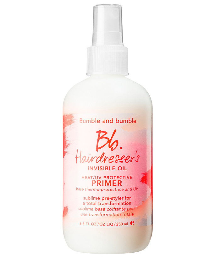 pre Dehydrated Strands: Bumble and Bumbler Hairdresser's Invisible Oil Primer
