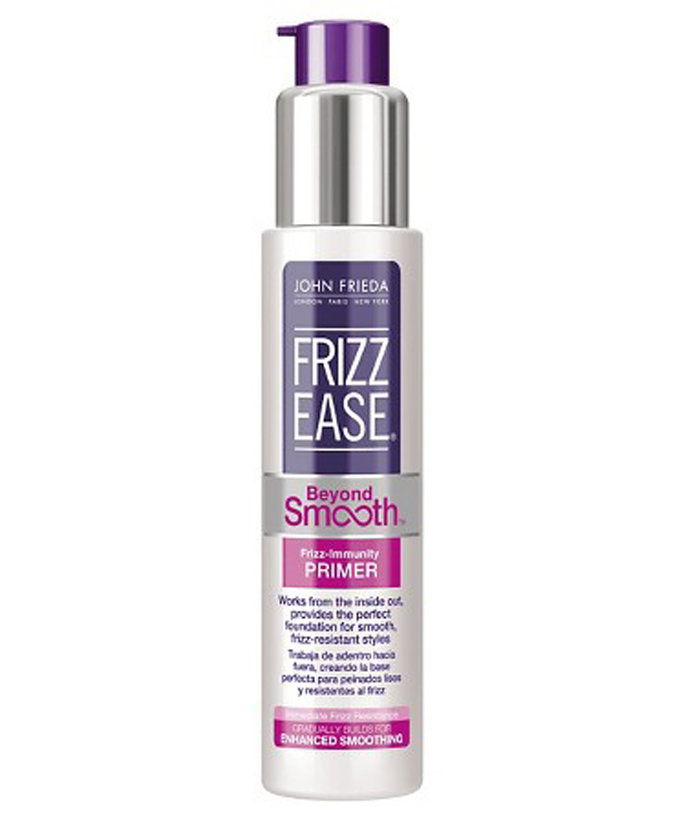 na Banish Frizz Once And For All: John Frieda Frizz Ease Beyond Smooth Frizz Immunity Primer
