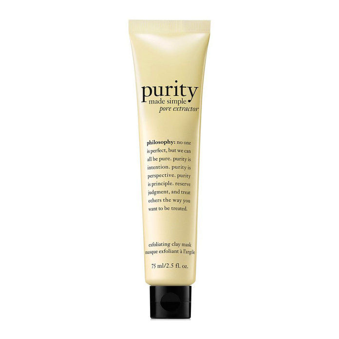 filozofia purity pore extractor exfoliating clay mask