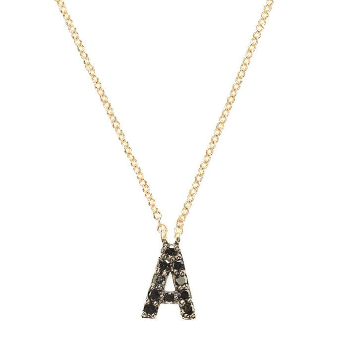 Stella and Dot Covet Pavé Initial