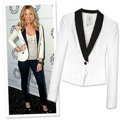 Rachel Zoe's Top Ten Trends for Fall - The Tuxedo Jacket
