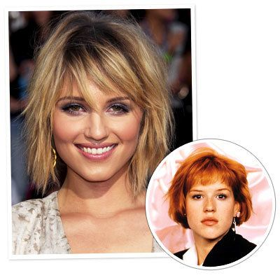 Dianna Agron - Molly Ringwald - The Bob - Classic Hairstyles