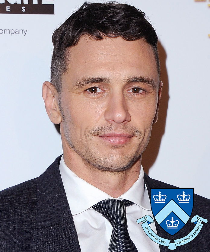 James Franco - Columbia University