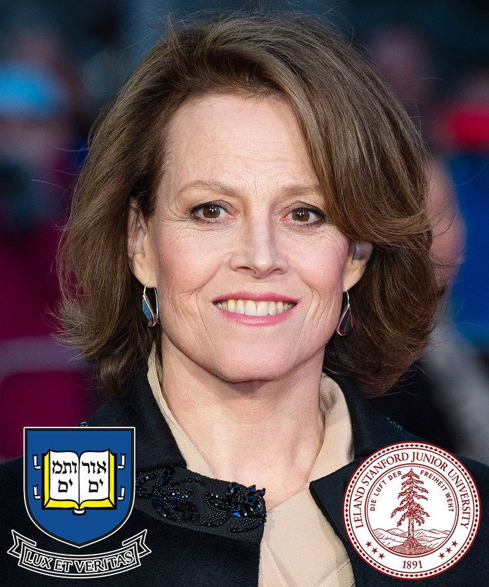 Sigourney Weaver - Yale and Stanford University