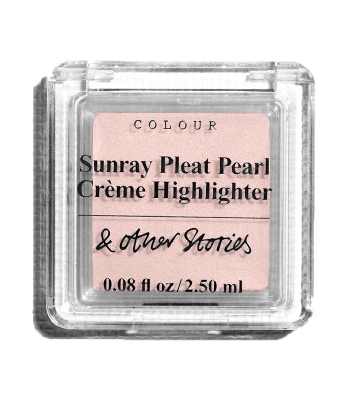 & Other Stories Sunray Pleat Pearl Creme Highlighter