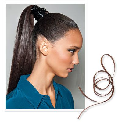 MJ Trim Leather - 10 Ways to Style Hair Quickly