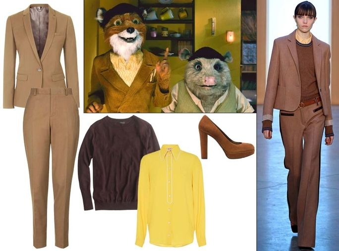 Noi s Anderson Character: Mr. Fox