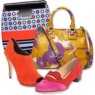 Autunno's Most Vibrant Bag and Shoe Combos