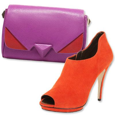 Autunno's Most Vibrant Bag and Shoe Combos - Zara - BCBG