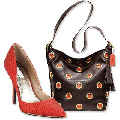 Autunno's Most Vibrant Bag and Shoe Combos - Coach - Rachel Rachel Roy