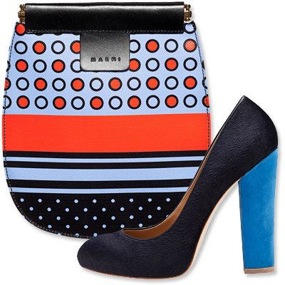 Autunno's Most Vibrant Bag and Shoe Combos - Marni - Ann Taylor