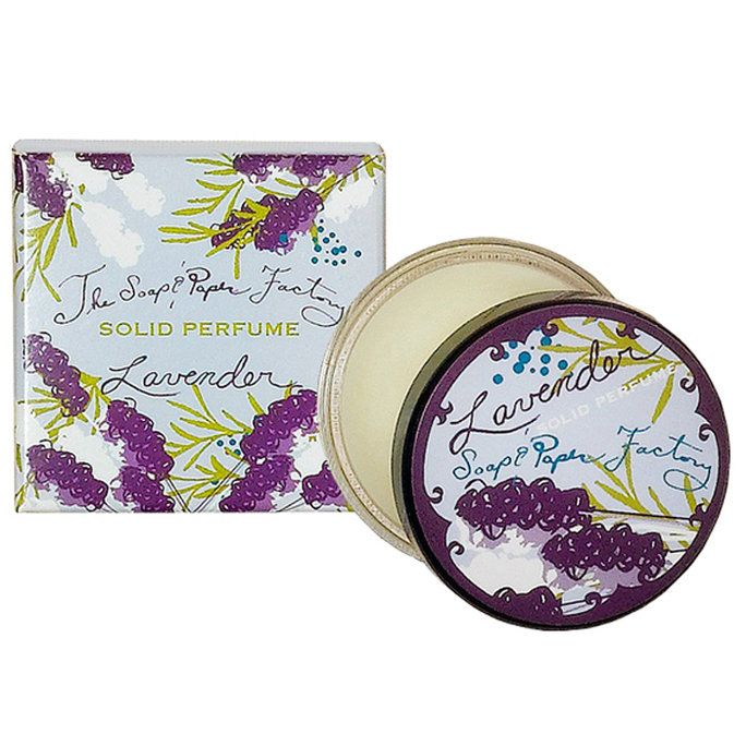 mydlo & Paper Factory Lavender Solid Perfume