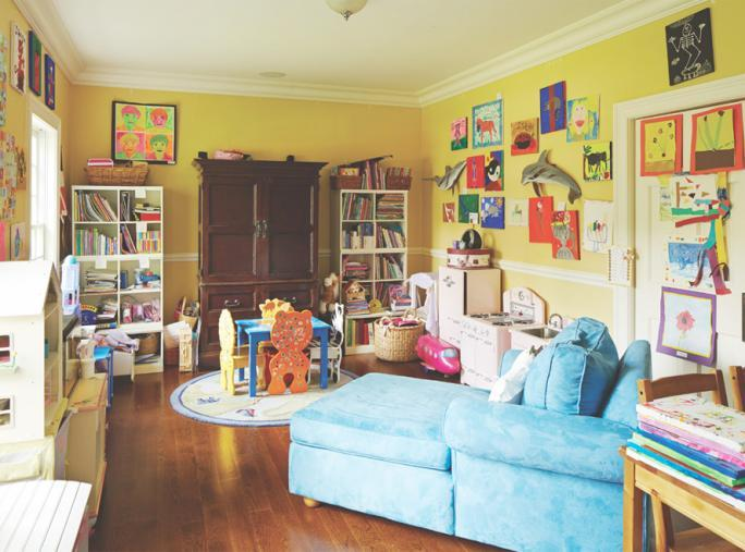 blcha Market Fabulous - Before: A Kids-Only Playroom