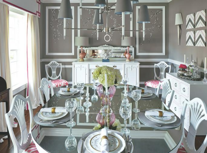 blcha Market Fabulous - After: A Glamorous Dining Room