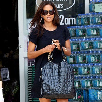 Halle Berry, YSL, Tribute, It Bags