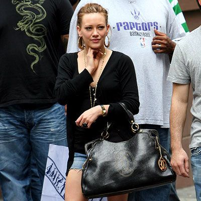 Hilary Duff, Cartier, Marcello, It Bags