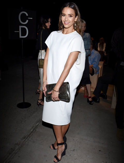 Jessica Alba - Narciso Rodriguez NYFW Spring Summer 2017 - September 13, 2016