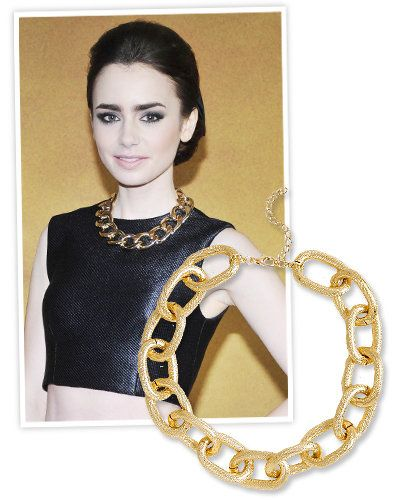 ľalia Collins and Chain Necklaces
