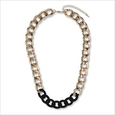Topshop chain necklace