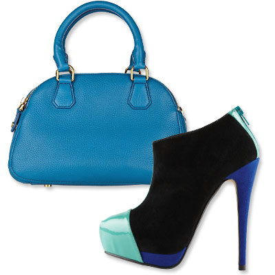 Autunno's Most Vibrant Bag and Shoe Combos - J. Crew- Aldo