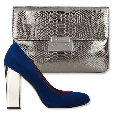 Autunno's Most Vibrant Bag and Shoe Combos - Michael Michael Kors- Sigerson Morrison