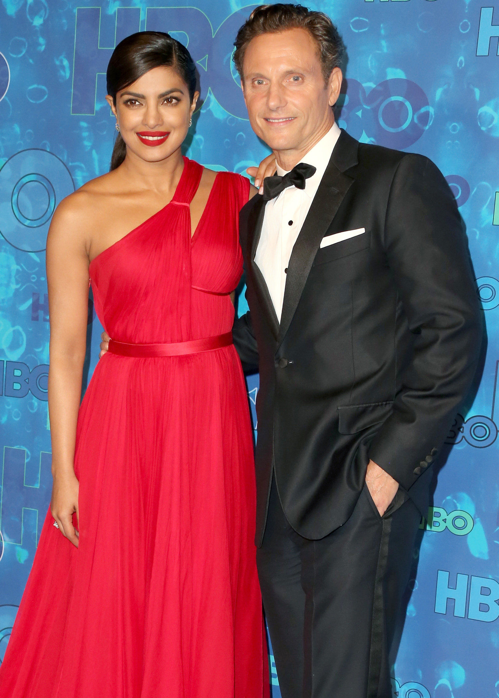 HBO Emmy Party - Priyanka and Tony