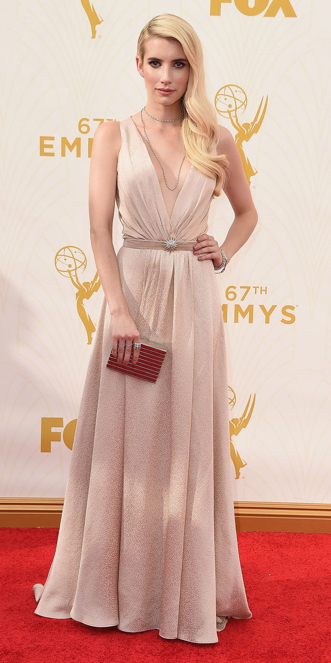 67 ° Annual Primetime Emmy Awards - Emma Roberts