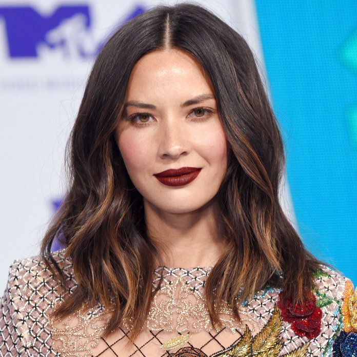 Olivia Munn's Ribbon Highlights