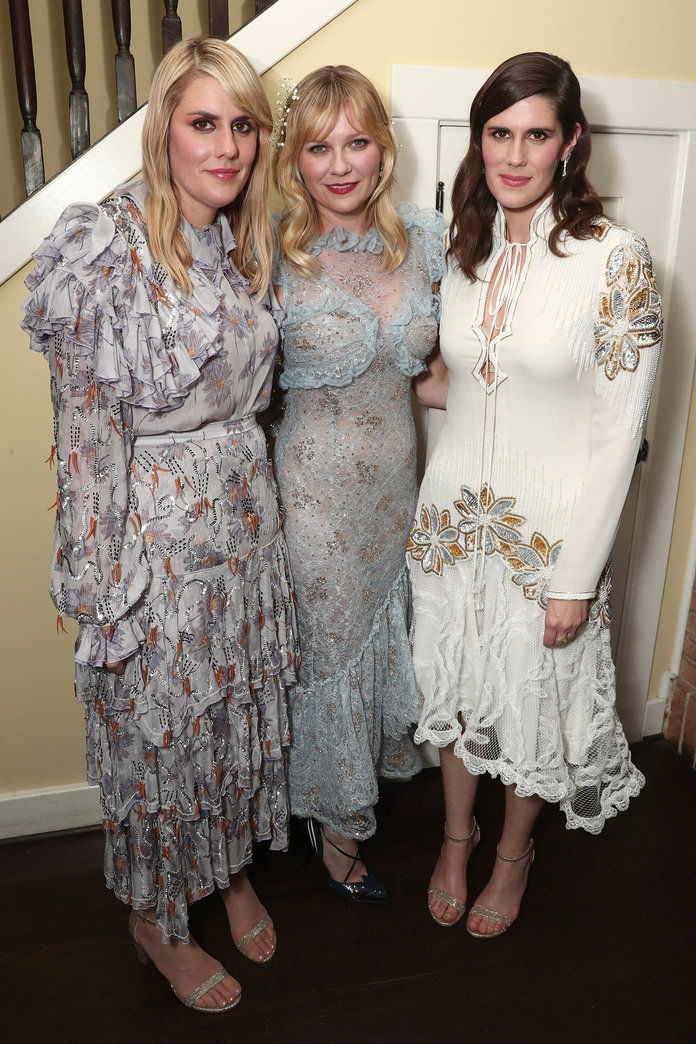 Kirsten Dunst and Rodarte's Laura and Kate Mulleavy