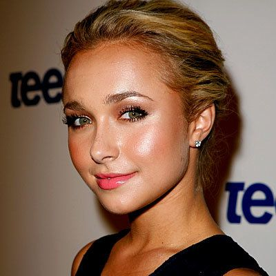 Hayden Panettiere, skin, tan, bronzer, daily beauty flash
