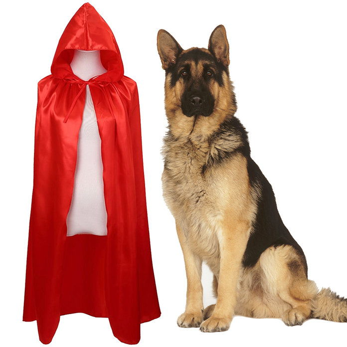 Sedikit Red Riding Hood and a Wolf