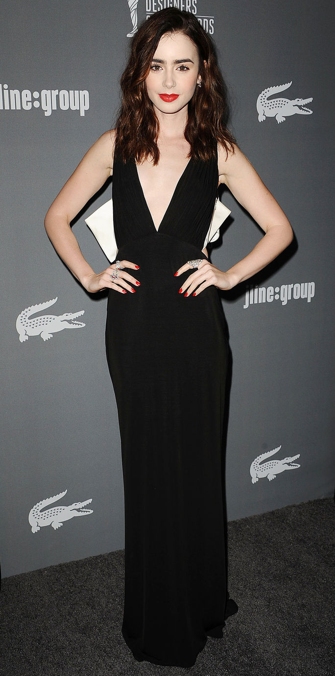 15 Annual Costume Designers Guild Awards Lily Collins