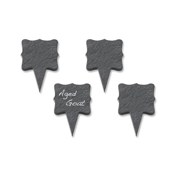 Ardesia Cheese Markers, Set of 4