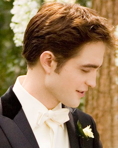 Robert Pattinson - Edward Cullen - Twilight - Breaking Dawn - Hair