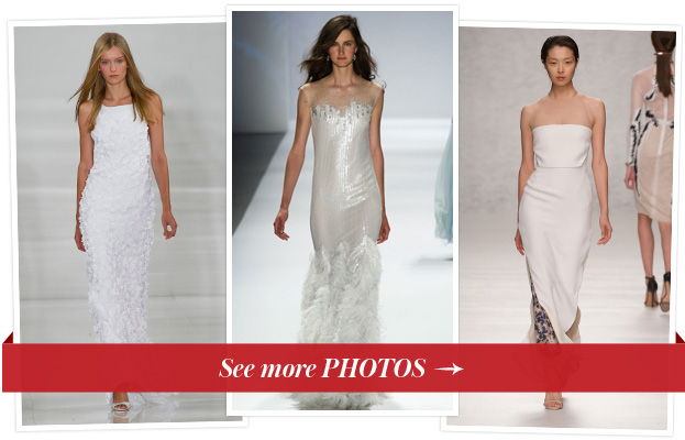 15 Runway Wedding Dresses